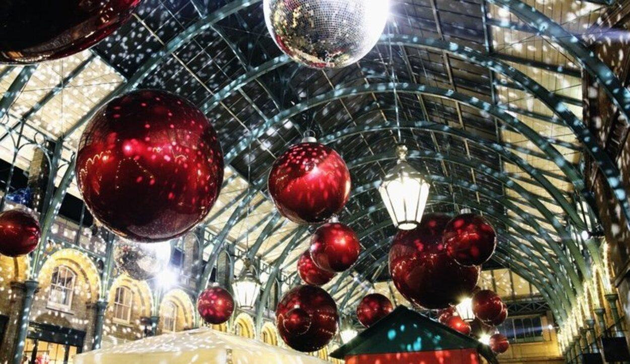 Todos los detalles de la Navidad en Londres