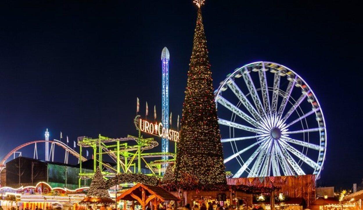 Hyde Park en Navidad