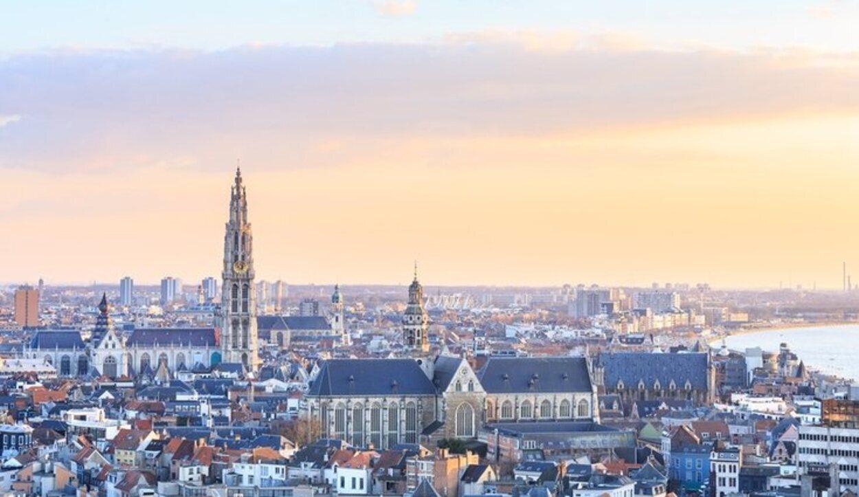 Las increíbles vistas de la ciudad belga