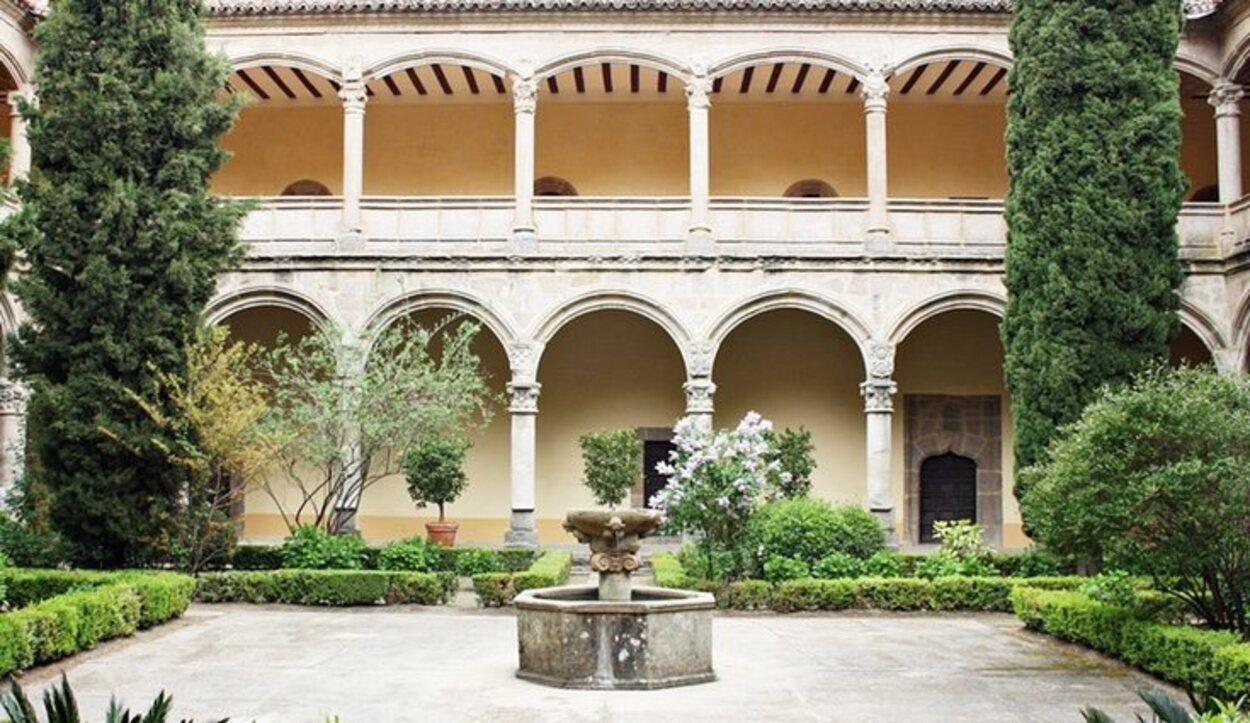 El Real Monasterio de Yuste está en la provincia de Cáceres