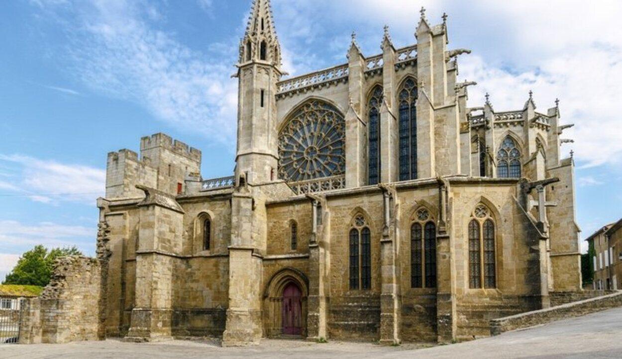 La Basílica de Saint-Nazaire desempeñó el papel de Catedral de Carcassonne