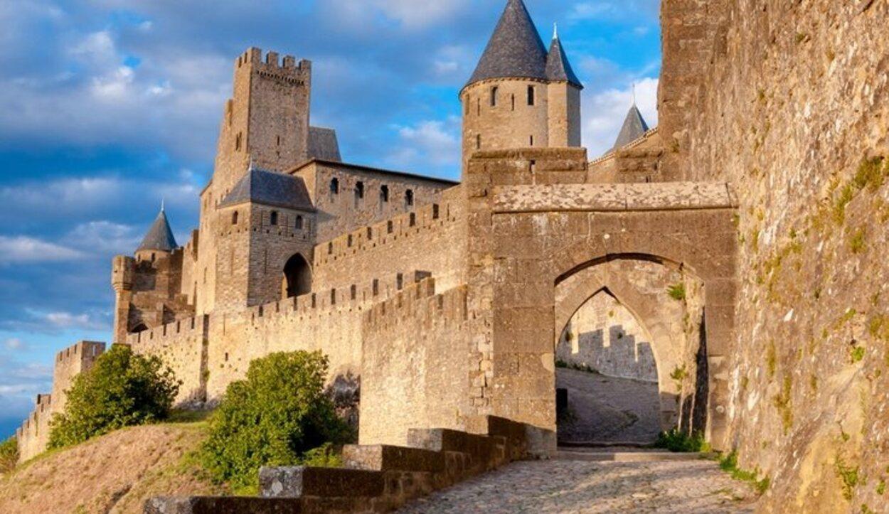 La Puerta de Aude en la fortaleza francesa