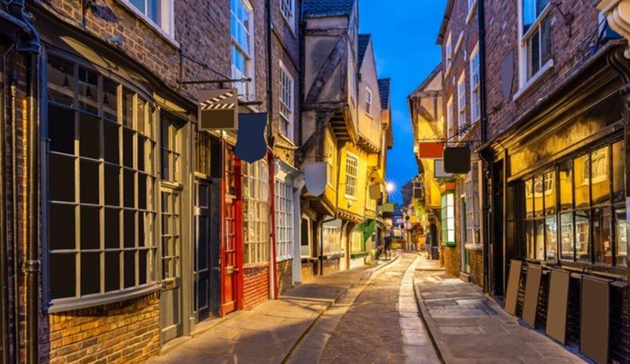Hay dos tiendas dedicadas exclusivamente al mágico mundo de Harry Potter