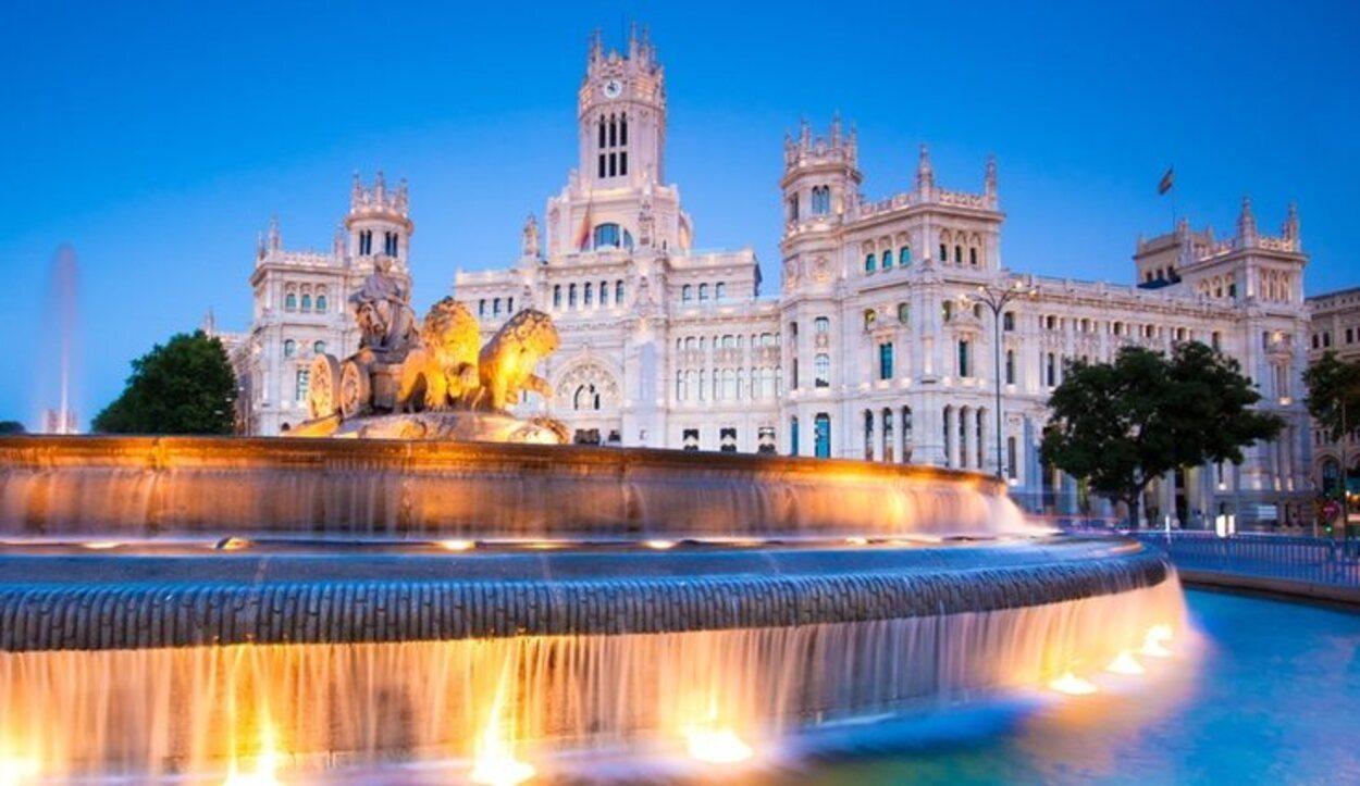 El invierno de Madrid no es tan extremo como el de otras localidades periféricas