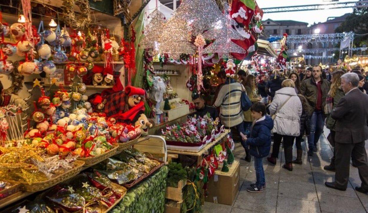 El mercadillo navideño por excelencia de la capital catalana