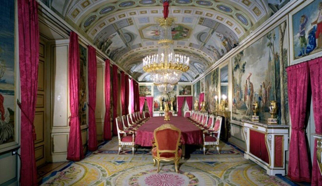 El comedor del Rey | Foto: Página web Patrimonio Nacional
