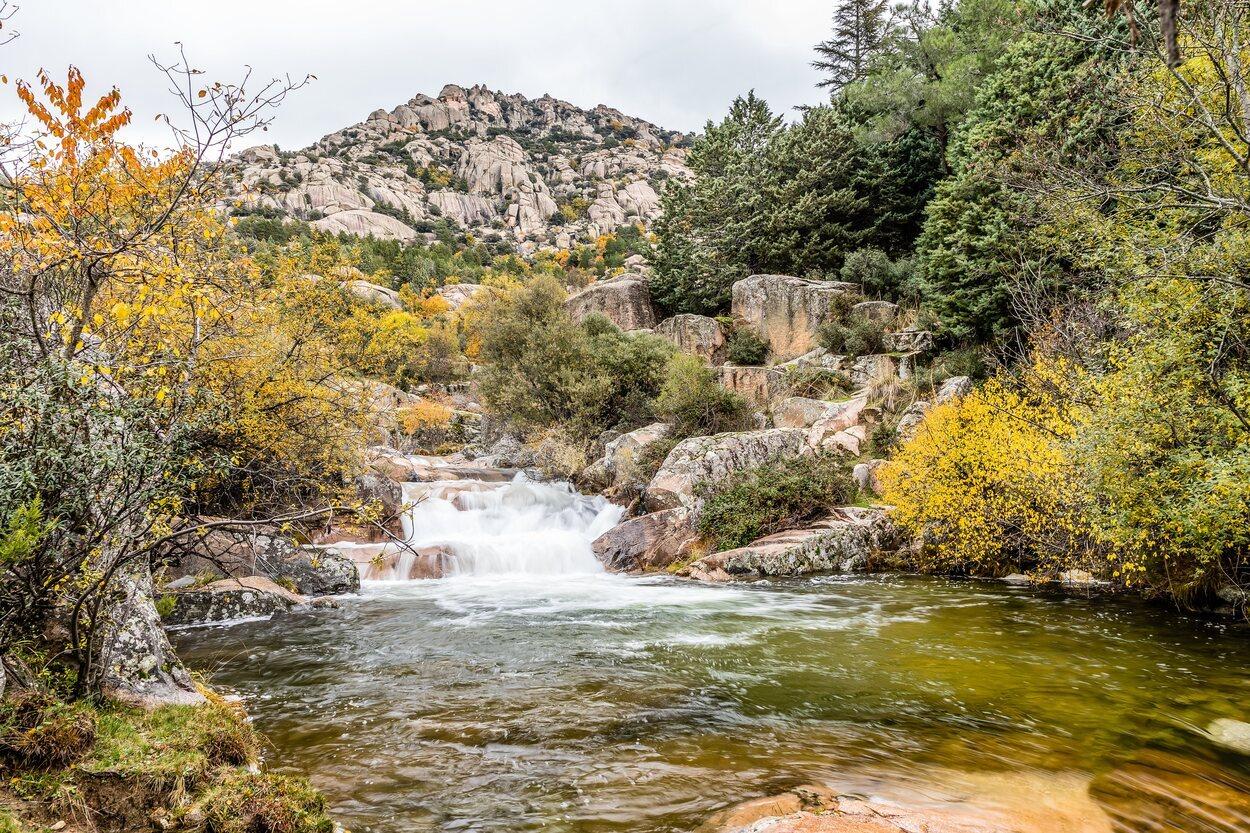 La Pedriza está en el Parque Nacional de la Sierra de Guadarrama