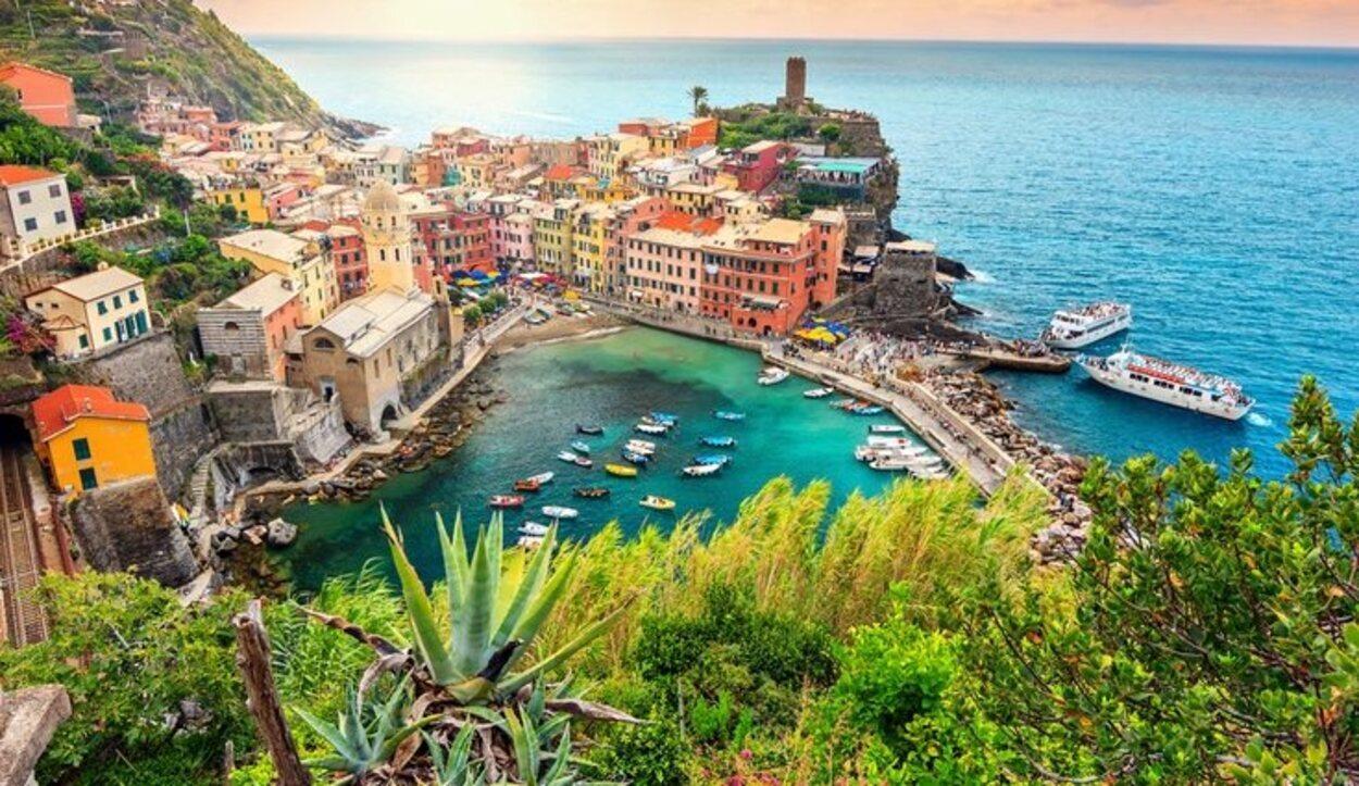 El pueblo más conocido de Cinque Terre es Manarola