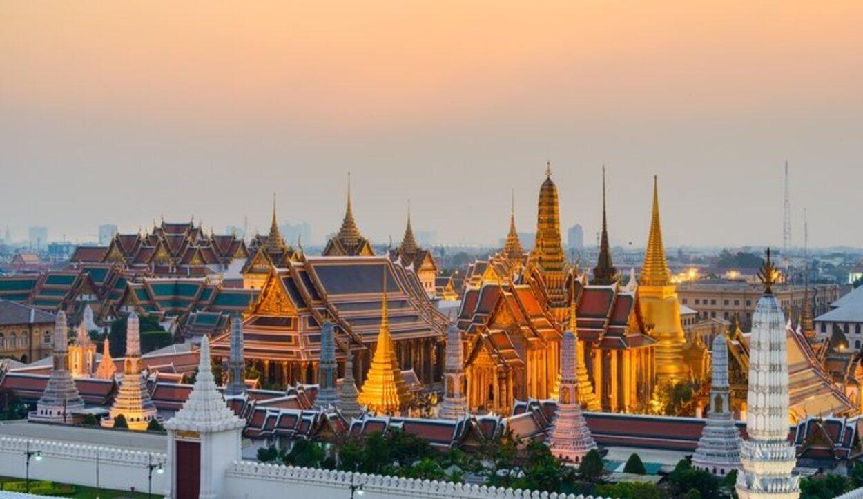 El templo de Buda Esmeralda en Bangkok