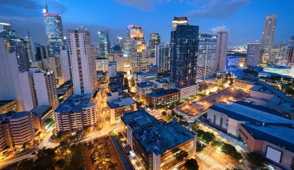El Distrito financiero de Makati