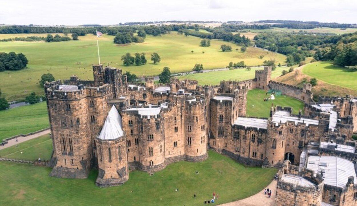 Este castillo es donde Harry Potter vuela por primera vez y captura la recordadora de Neville