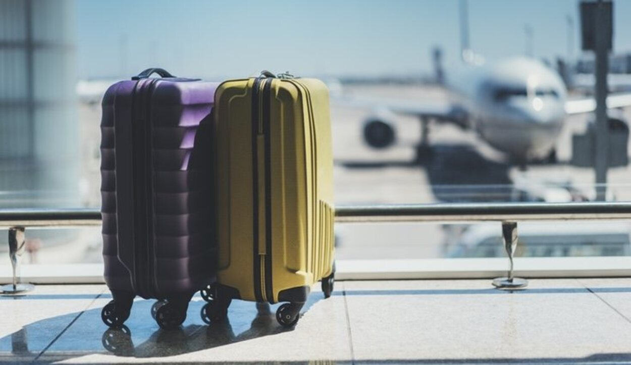 El peso de la maleta cambia en función del tipo de billete que compres