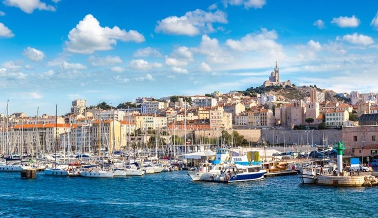 Marsella es la segunda ciudad más poblada de Francia