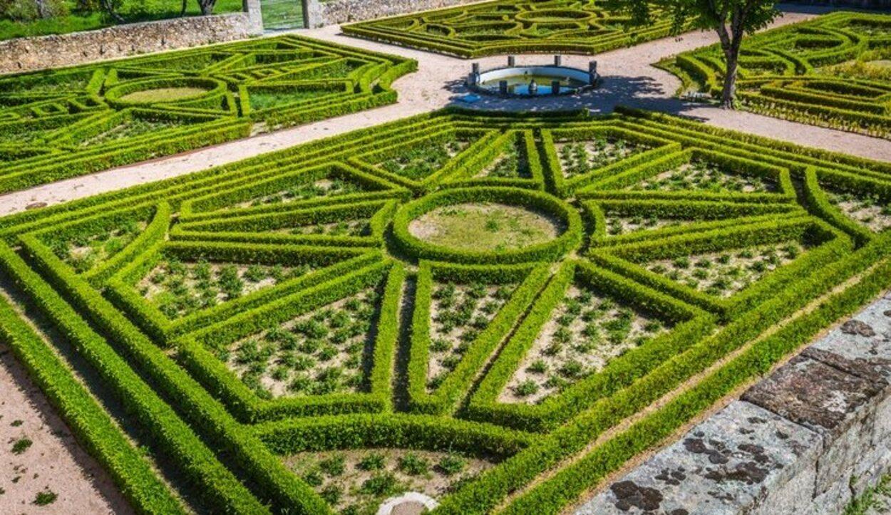 El Jardín de los Frailes en El Escorial