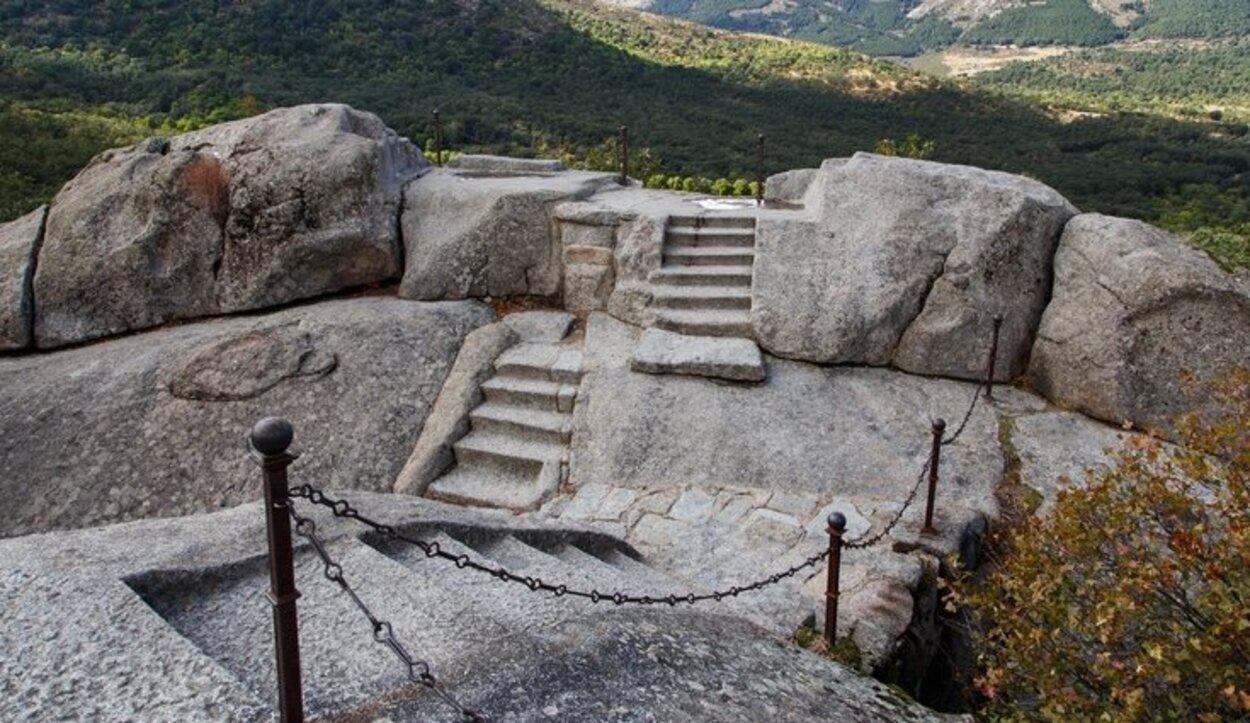 La mágica vista que se tiene no solo de la Sierra de Guadarrama