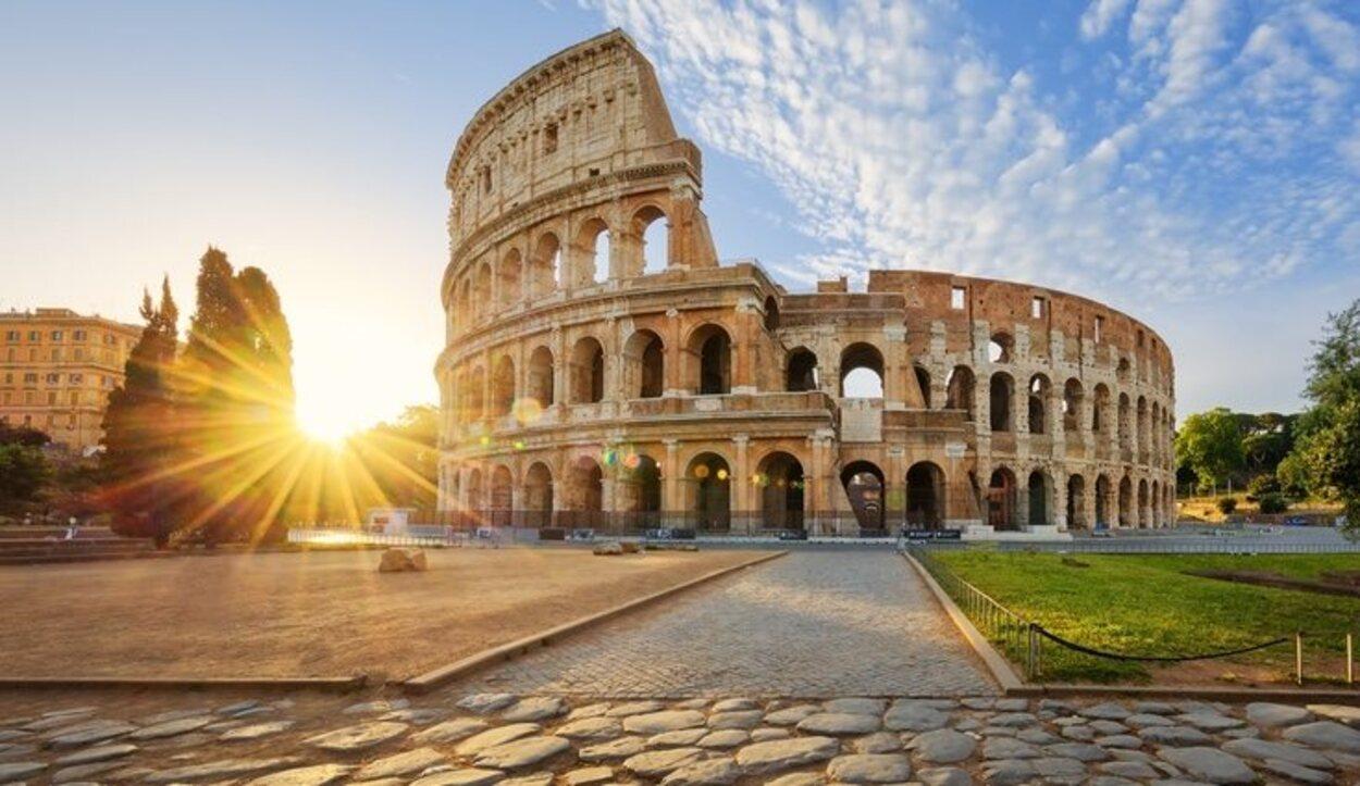 El clima romano es  suave y templado, excepto algunos días de canícula estival