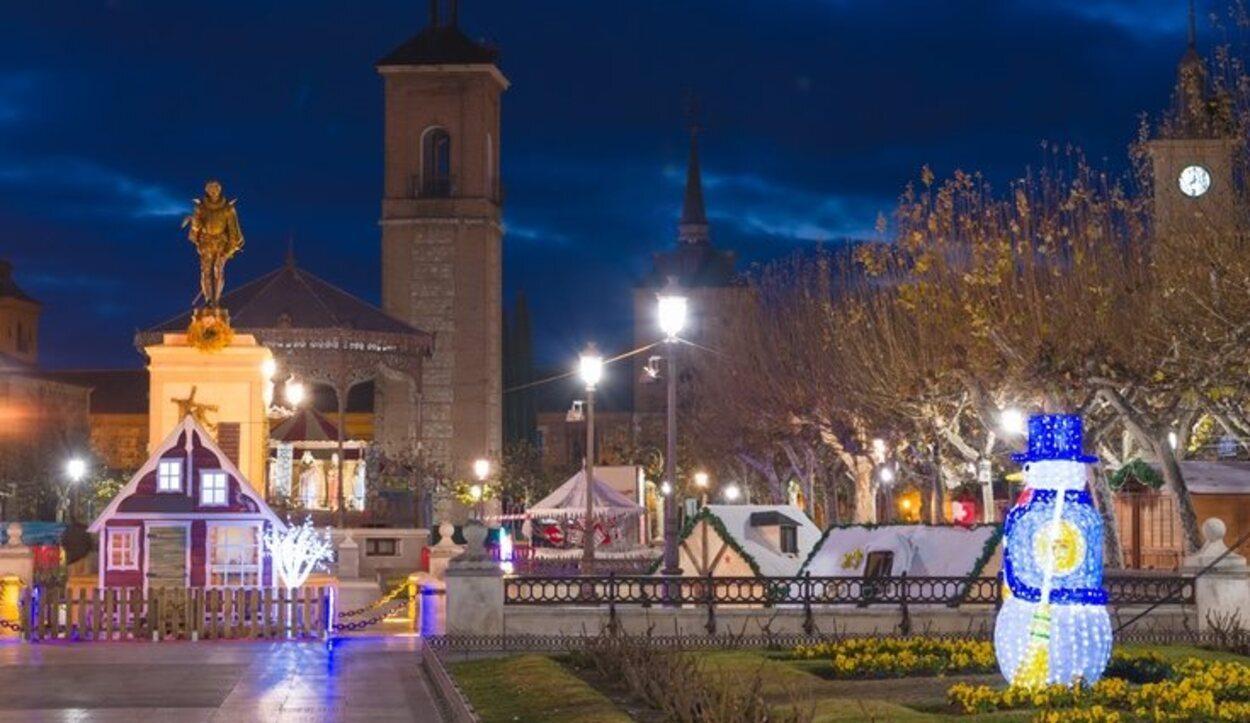 La Plaza de Cervantes luce así de bonita