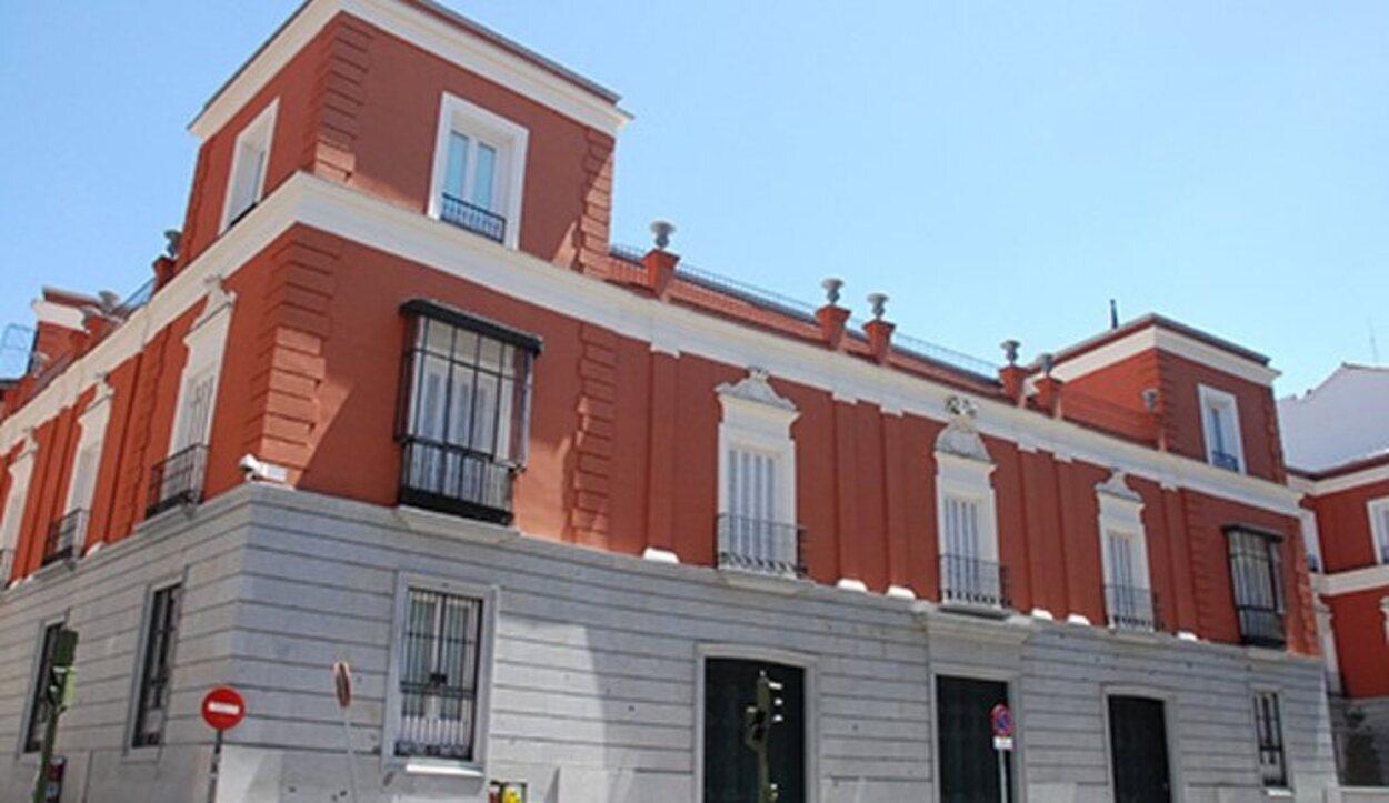 Ocupa el solar del que era el palacio de Beatriz Galindo | Foto: Ministerio de Asuntos Exteriores