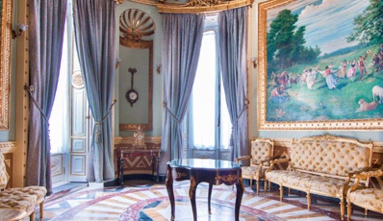 Tiene una amplia variedad de salones y salas que se combinan entre sí | Foto: Cámara Madrid