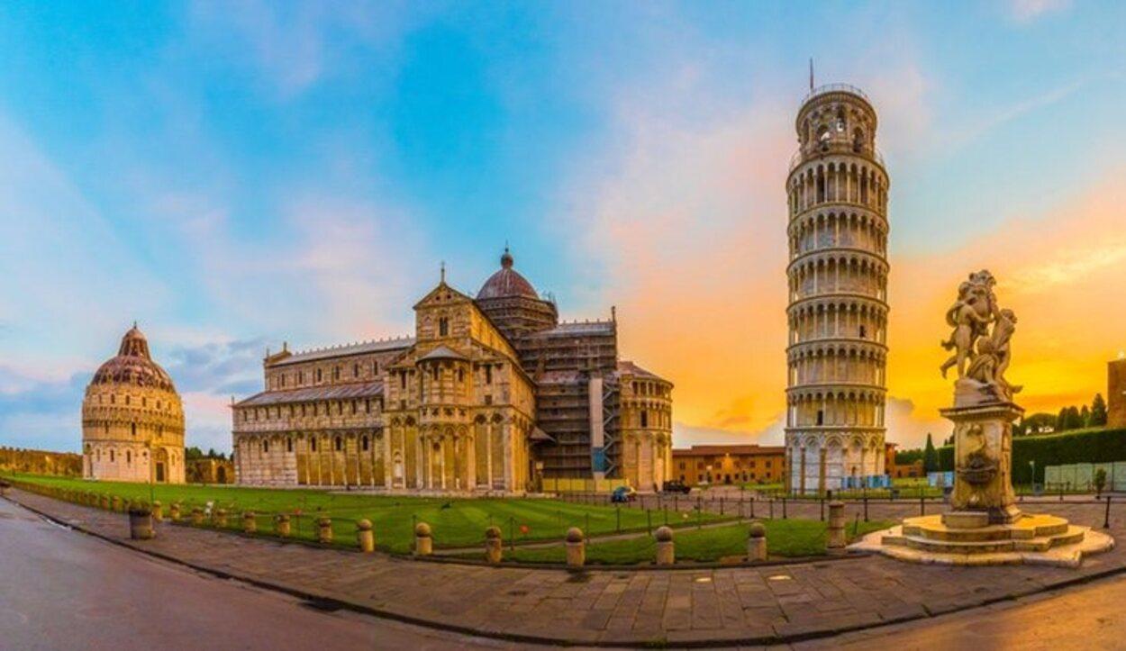 La Plaza del Duomo de Pisa es Patrimonio de la Humanidad por la UNESCO