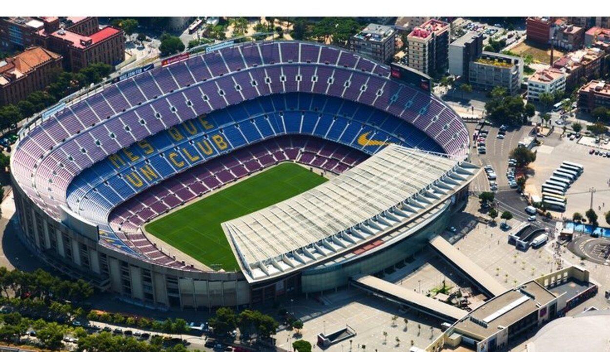 El Camp Nou es el estadio con más aforo de Europa