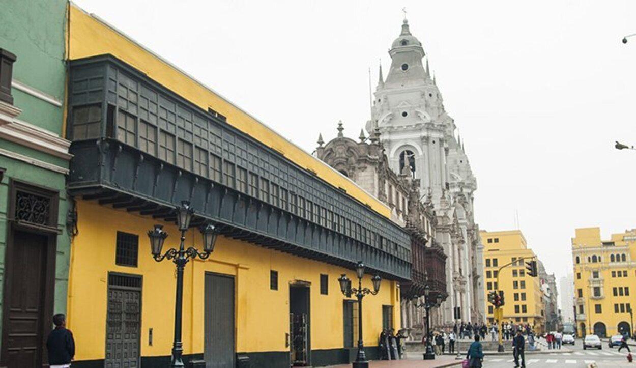 La Catedral de Lima fue fundada por Francisco Pizarro