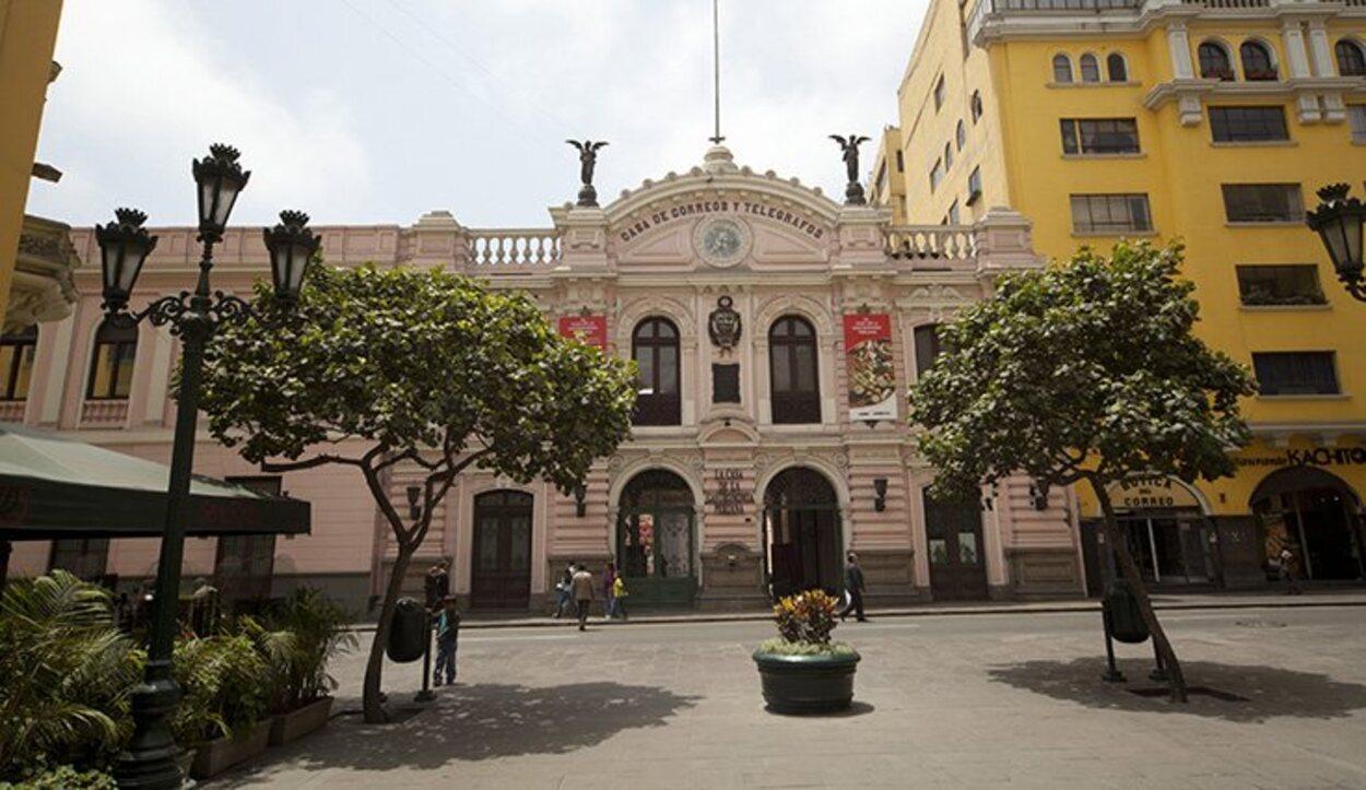 El edificio de la Casa de Gastronomía de Lima