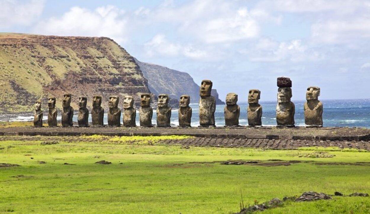 Los moais fueron hechos para representar a los ancestros importantes de Rapa Nui