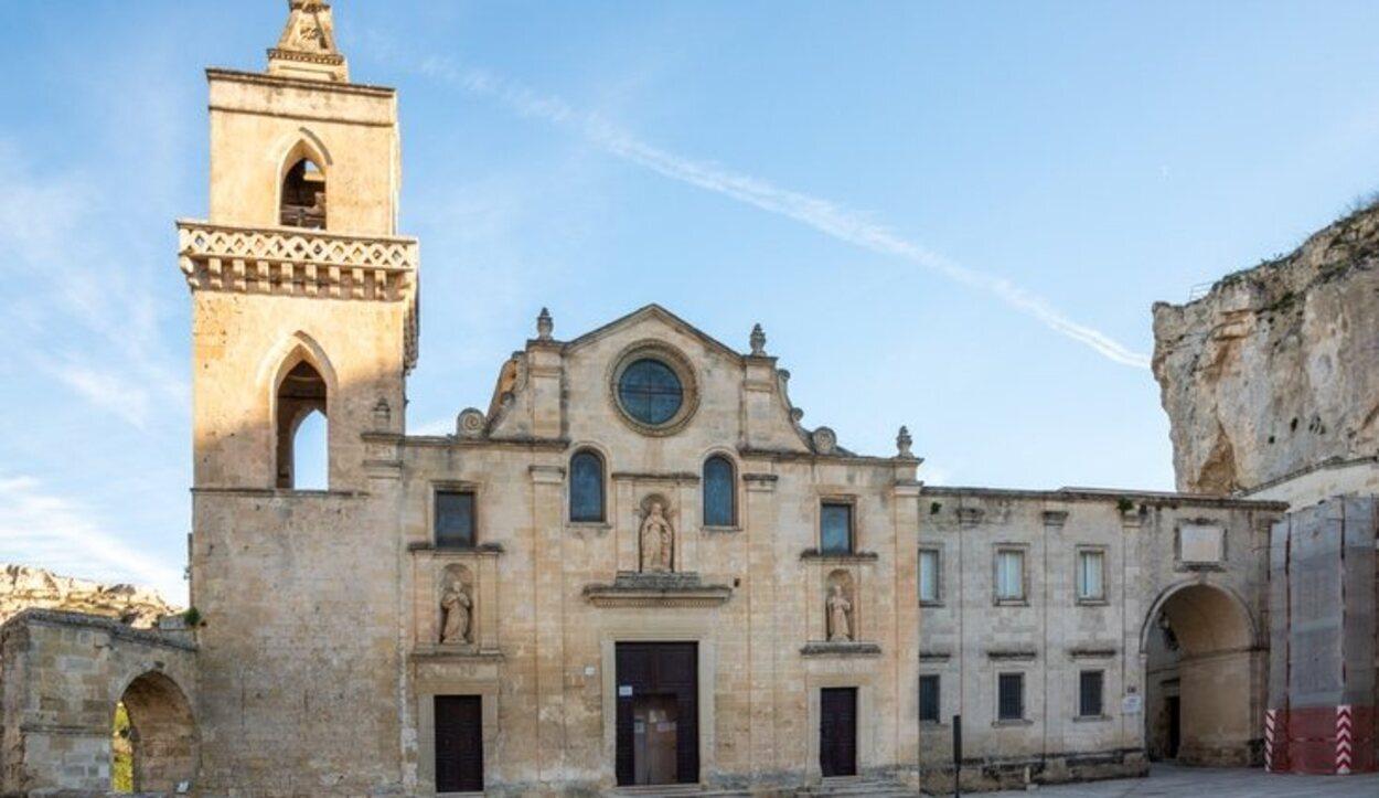 La Iglesia de San Pietro Barisano es todo un espectáculo para nuestros ojos