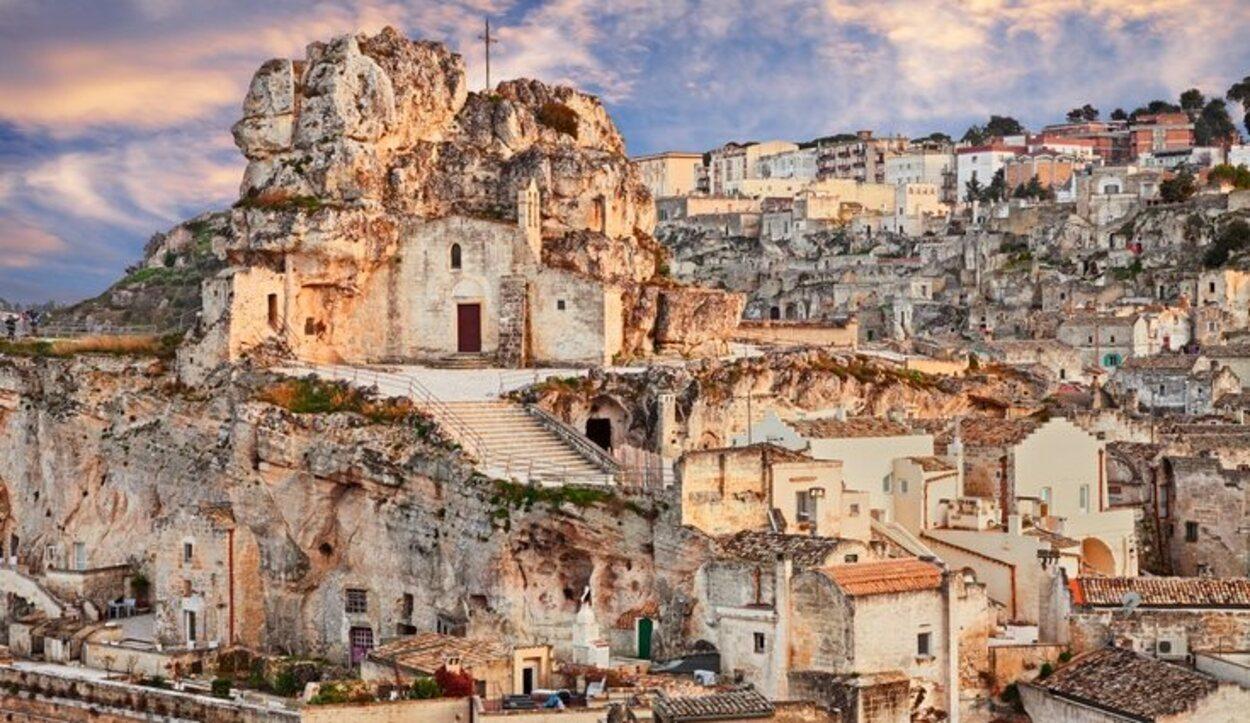 Matera es una ciudad muy conocida a nivel europeo gracias a sus Sassi