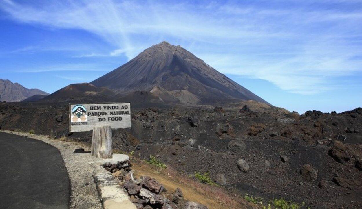 El Pico do Fogo es un volcán en activo que tuvo su última erupción entre 2014 y 2015