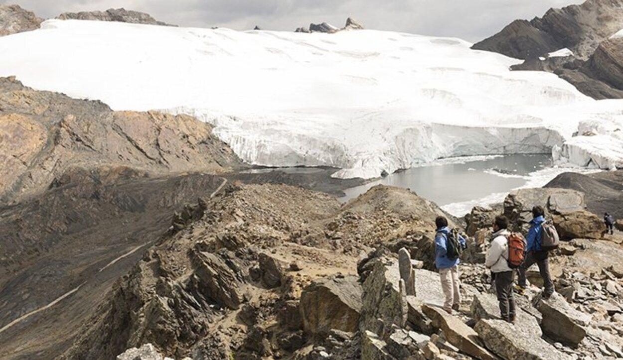 El Glaciar Pastoruri está desapareciendo a un ritmo imparable