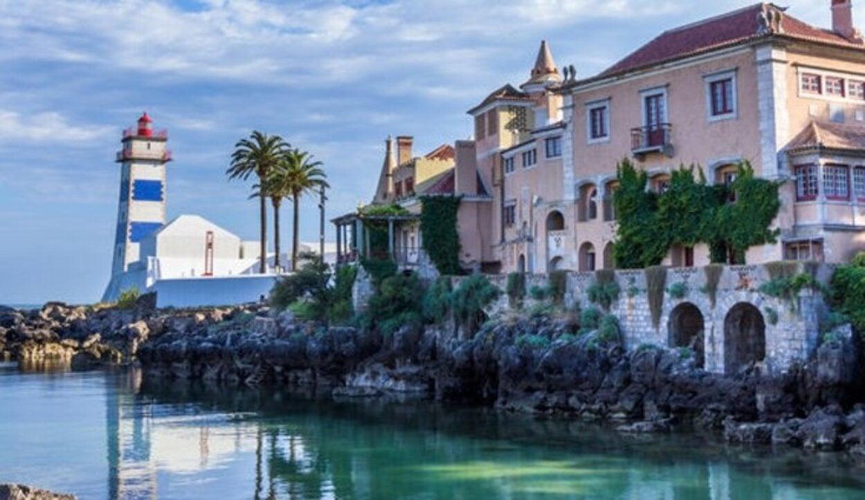 Cascais es uno de lo pueblos costeros de Lisboa