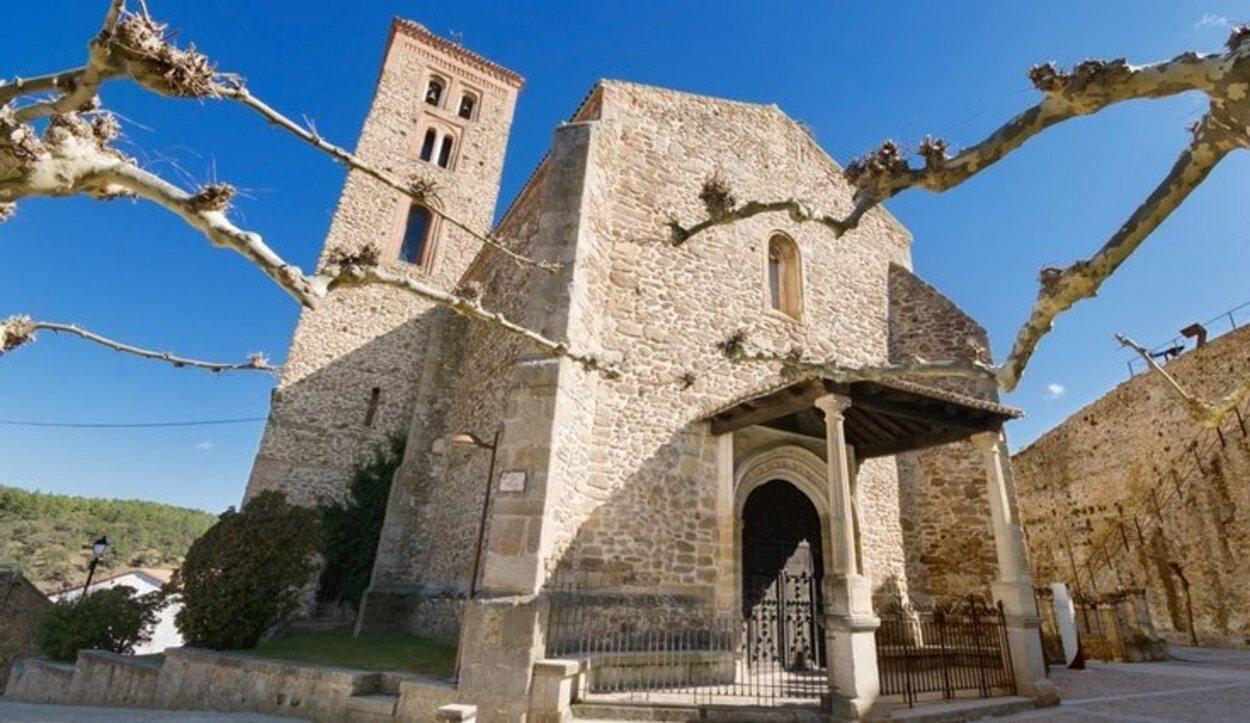 Santa María del Castillo es una bonita iglesia dentro del centro amurallado