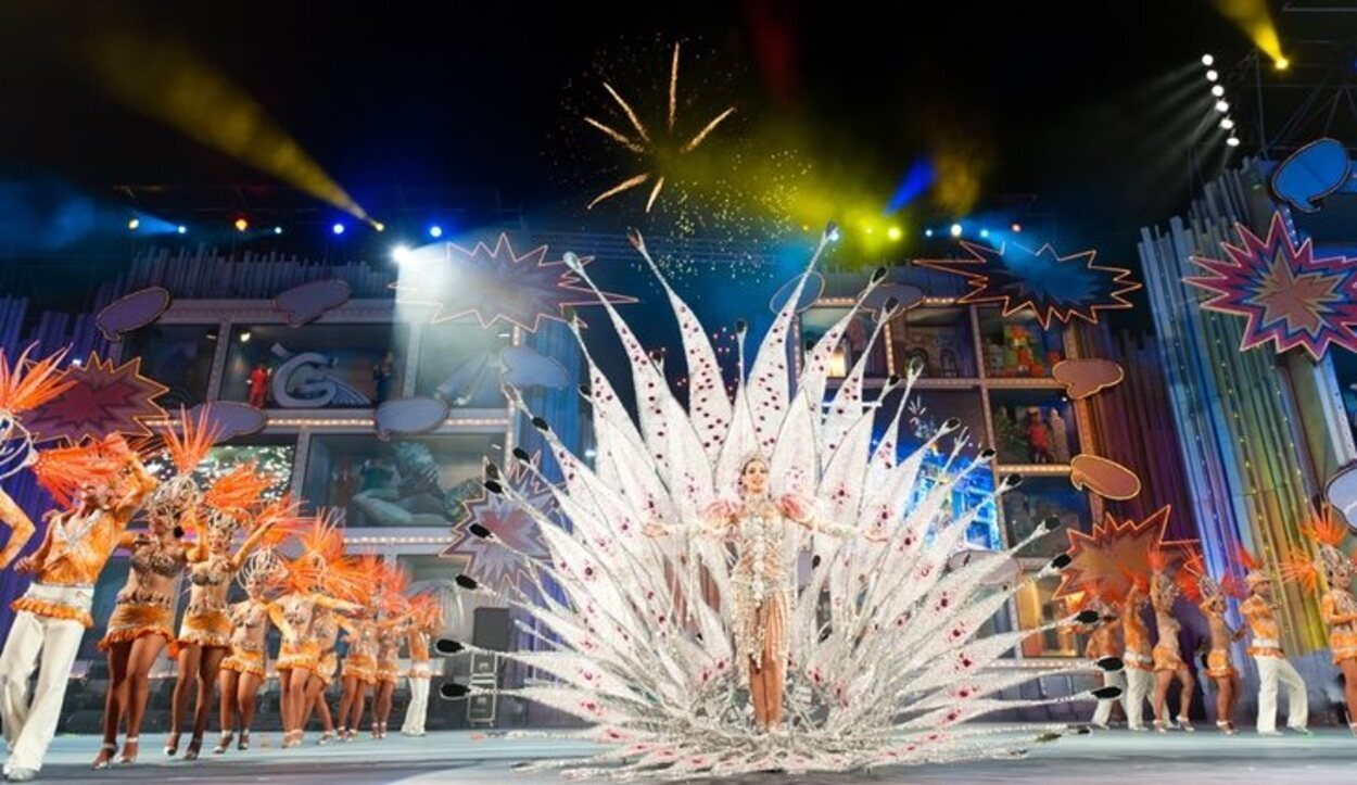 La Reina del Carnaval es la protagonista del momento