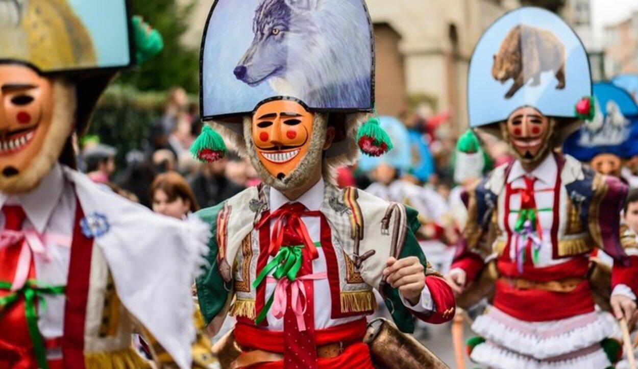 El carnaval de Galicia se celebra en diferentes pueblos