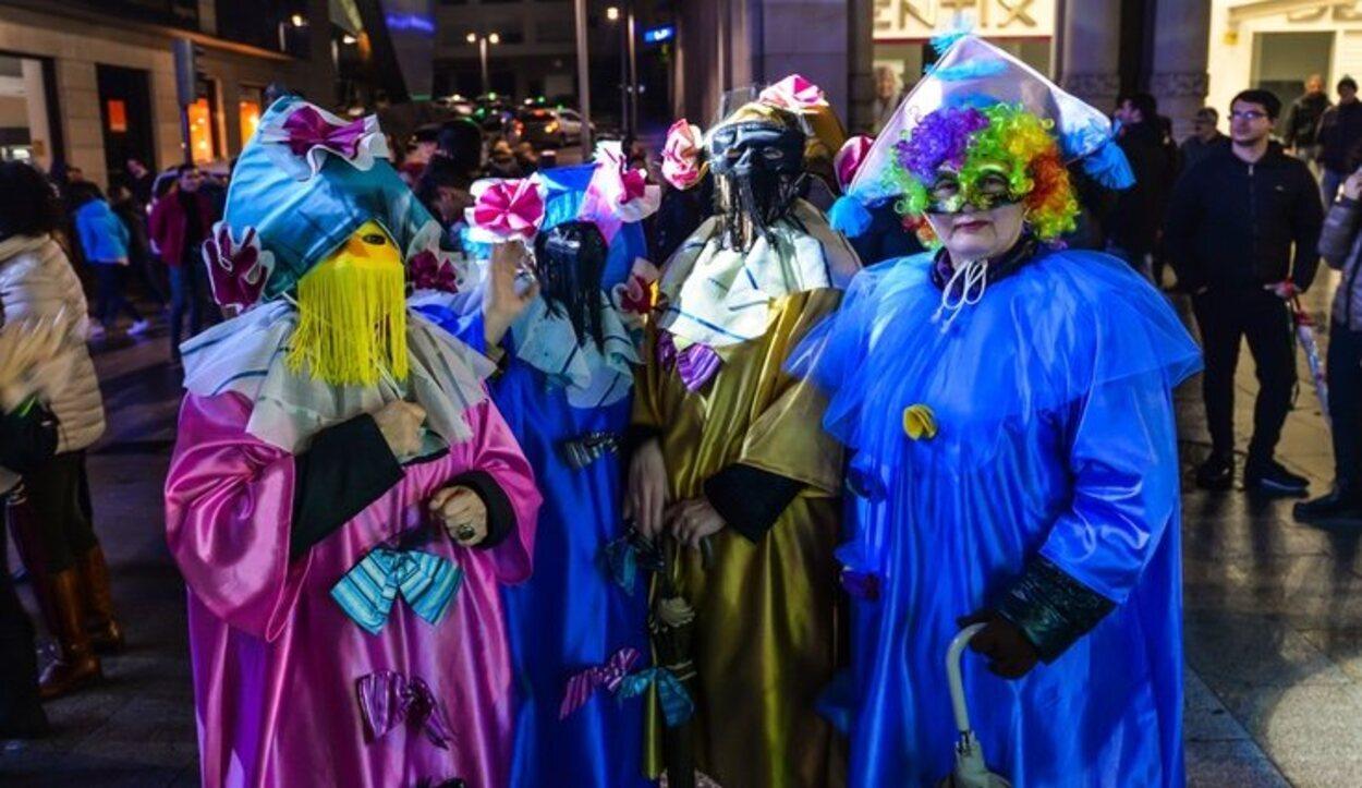 En Galicia el carnaval se vive muy intensamente