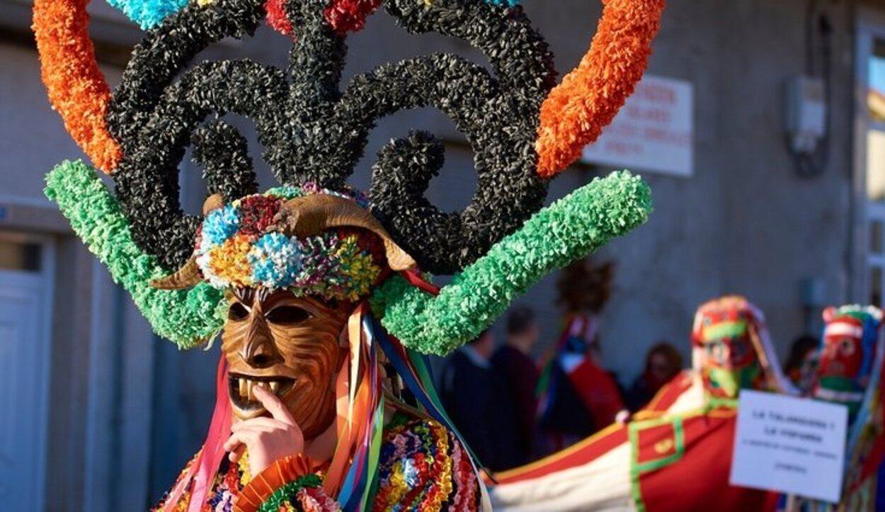 Los disfraces y las máscaras son realmente los protagonistas del carnaval en Galicia
