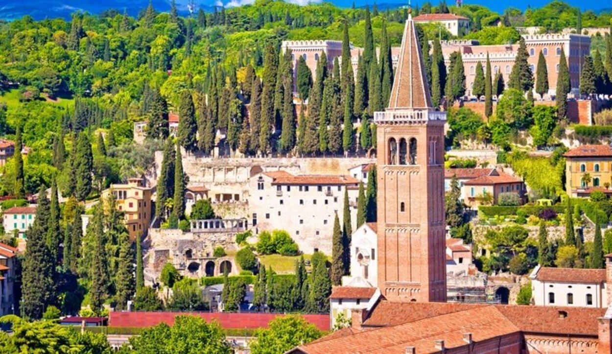 El Castel de San Pietro es algo fundamental para ver una vez que se visita la ciudad italiana