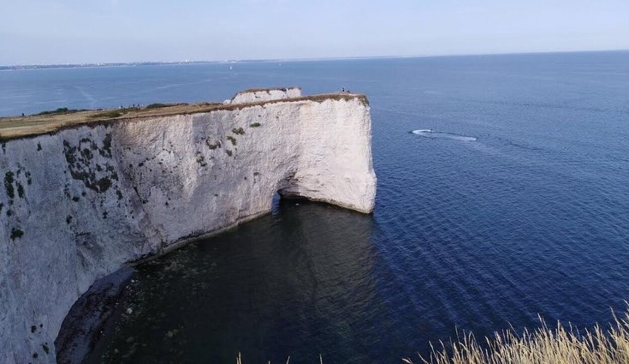 Old Harry Rocks, en la costa de Dorset