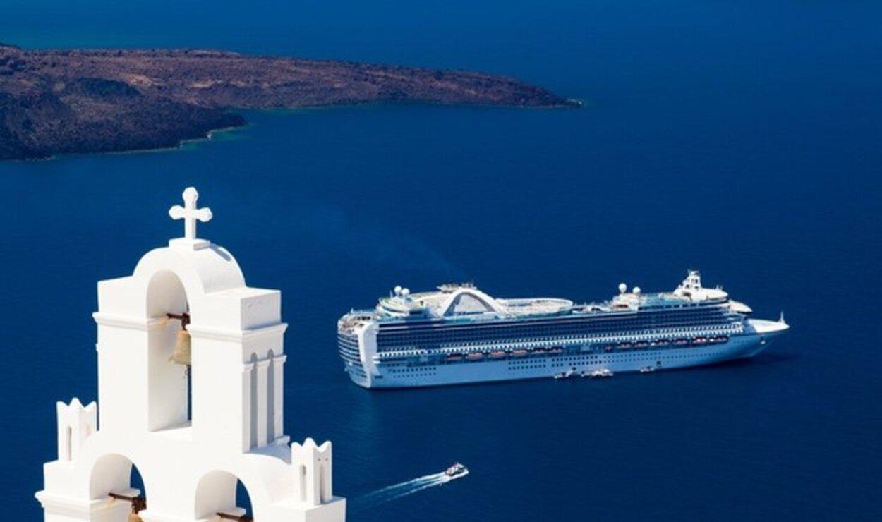 El mar Egeo goza de una calma increíble