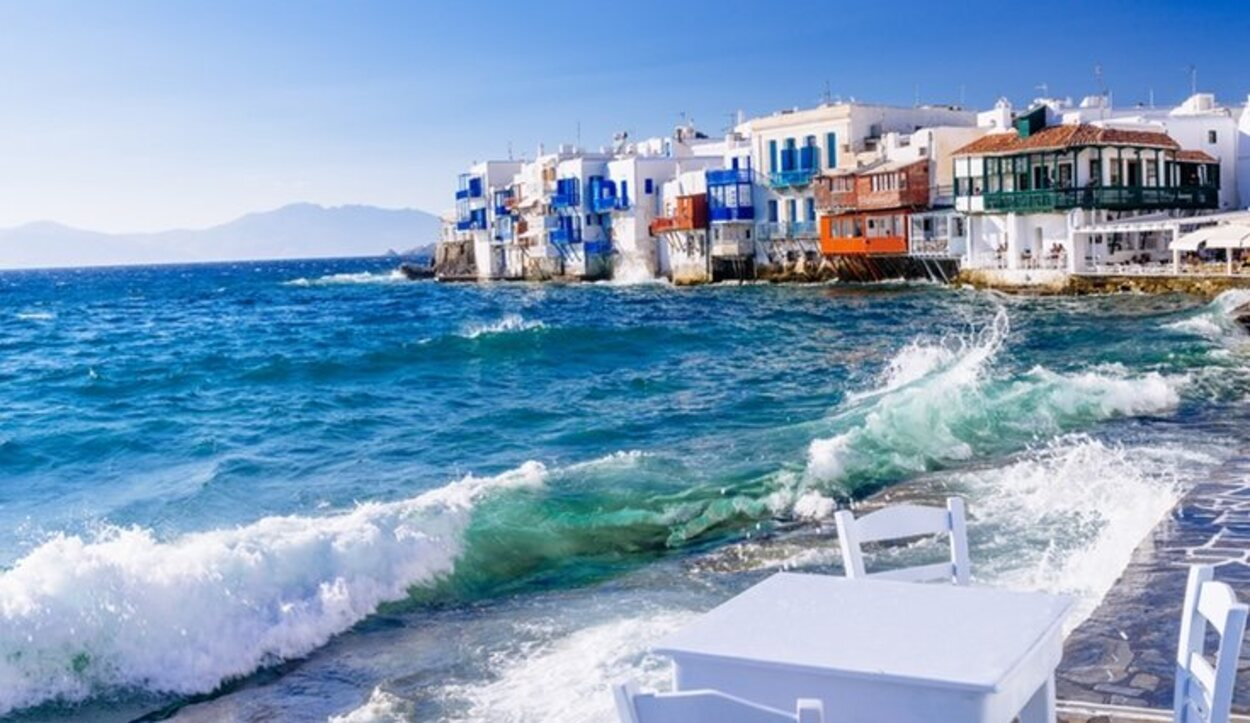 Las playas de Mykonos son ideales para descansar por su estilo paradisiaco