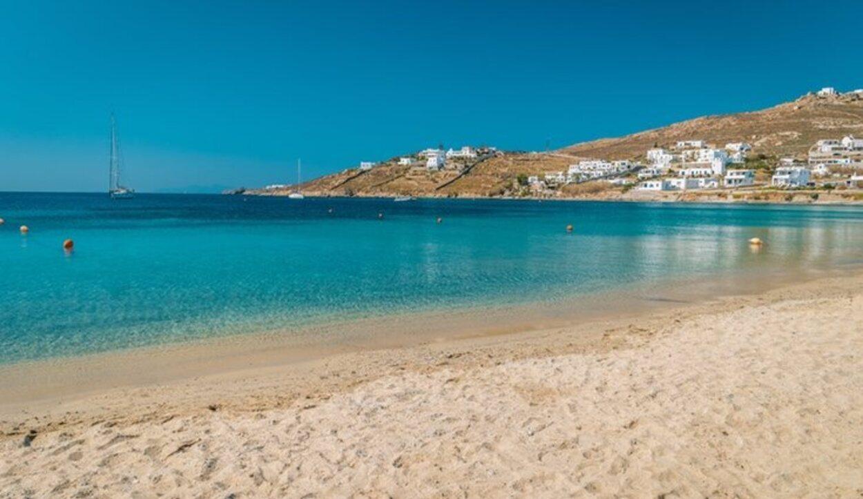 Playa Ornos, Mykonos