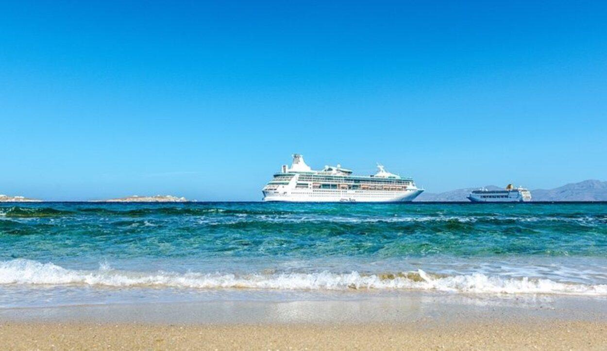 Crucero por la bahía de Mykonos
