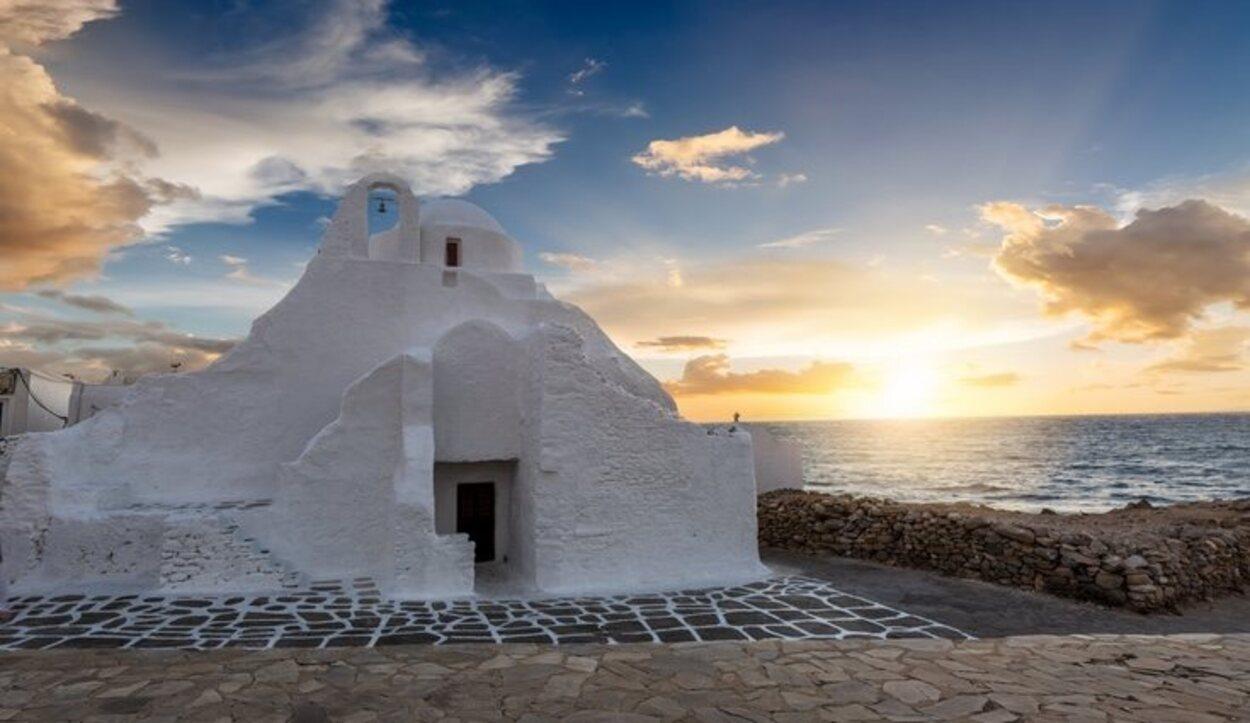 Iglesia Paraprtani, Mykonos
