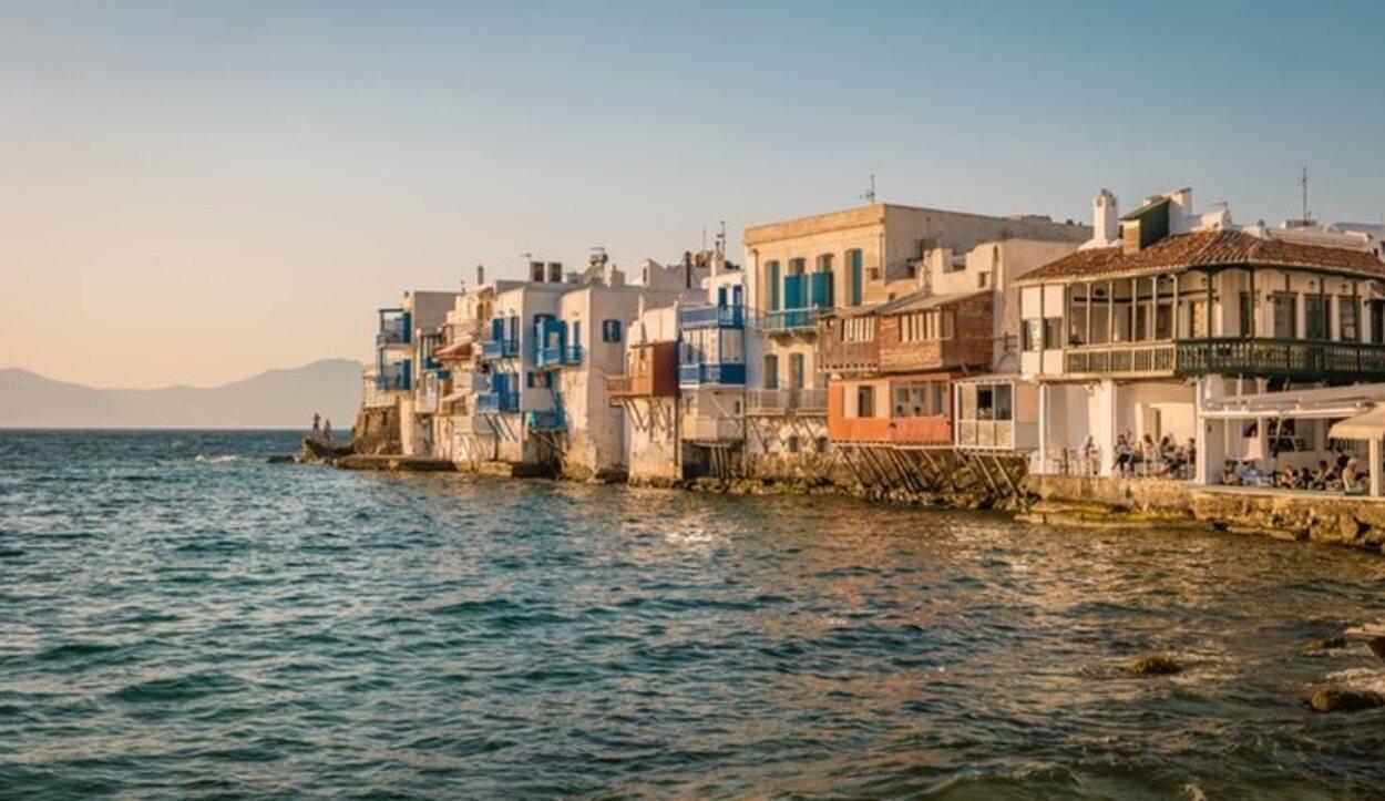 La pequeña Venecia de Mykonos