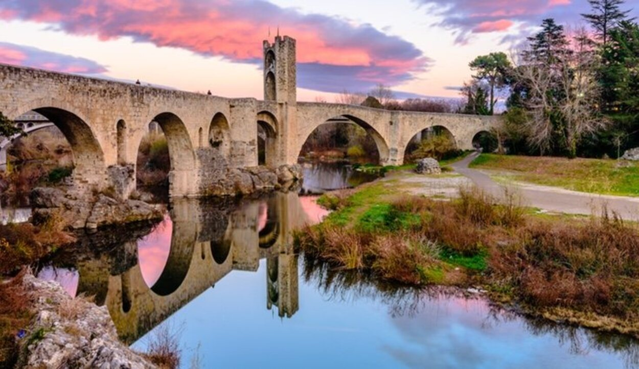 Está en Girona y aún conserva un barrio judía del XIII-XIV