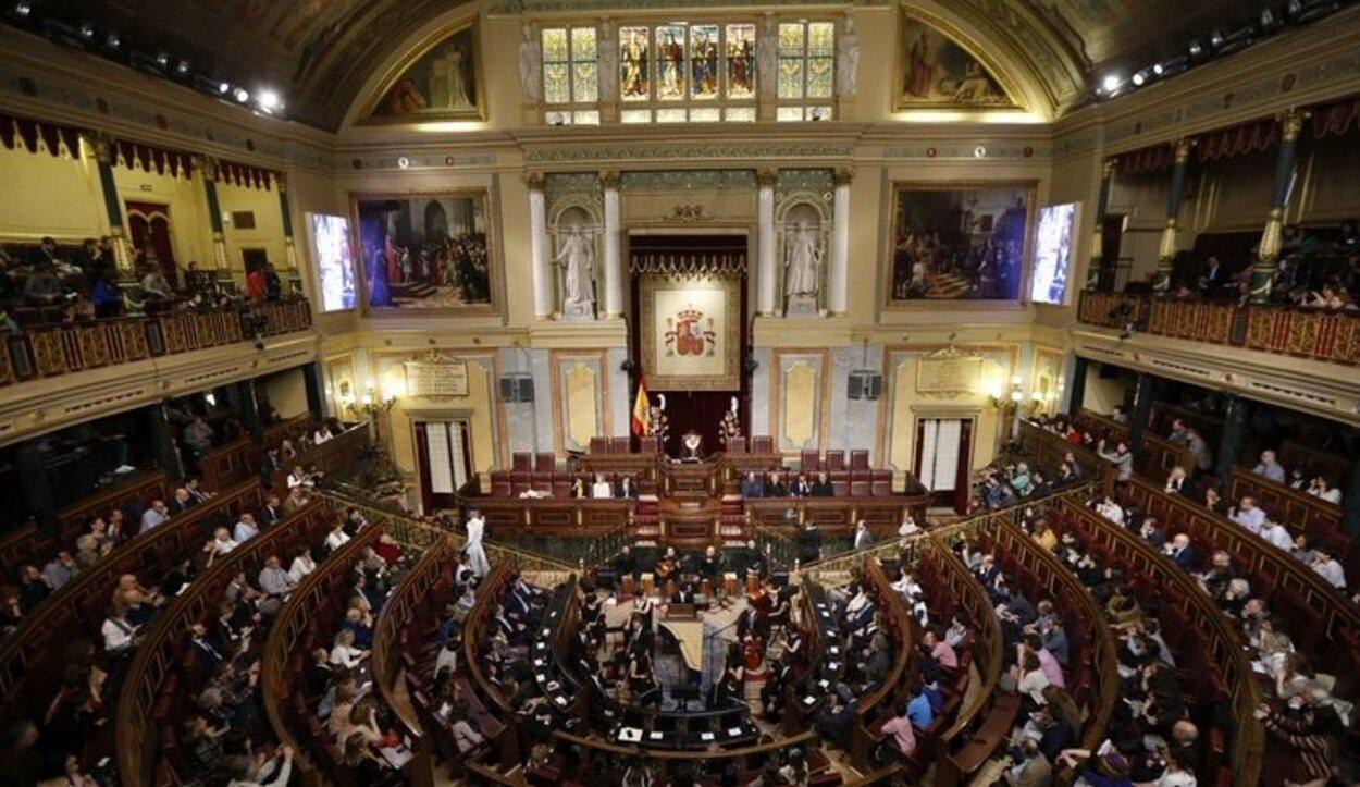 El Hemiciclo, donde los diputados celebran las sesiones parlamentarias | Foto: Gtres