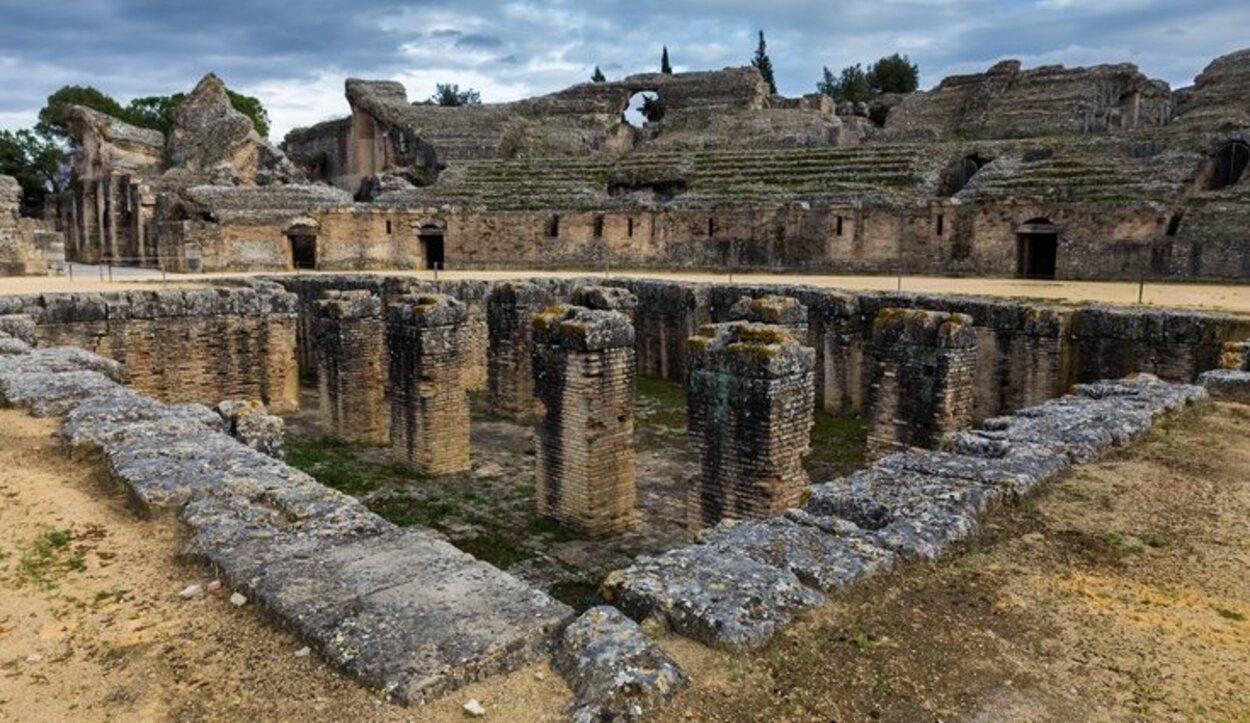 Ruinas de Itálica en Santiponce