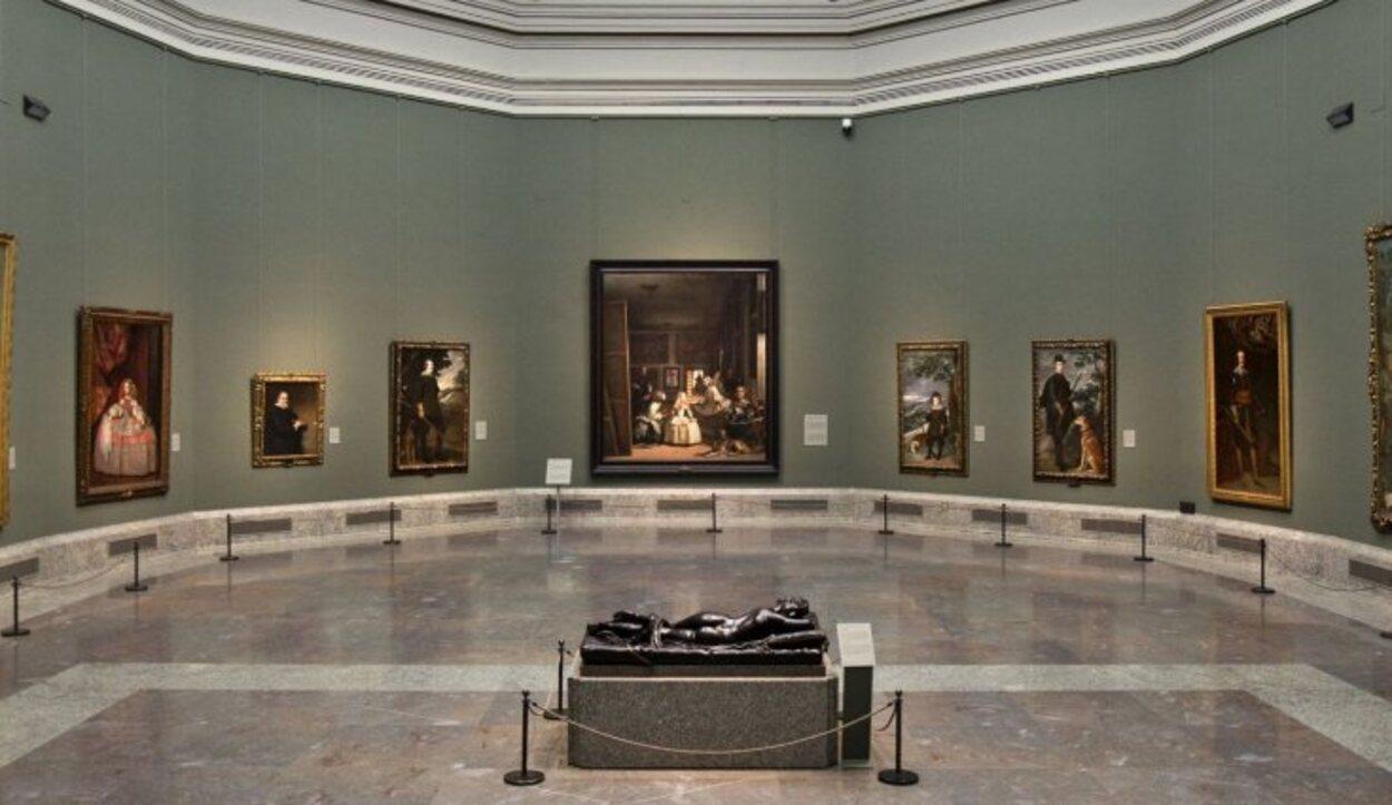 Sala dedicada a Velázquez en el Museo del Prado
